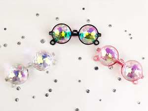 Holographic sunglasses