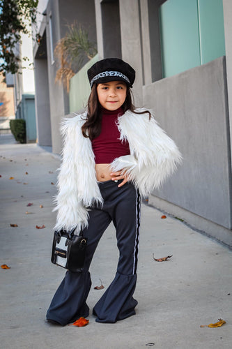 Kids faux fur coats (2 colors)