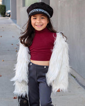 Load image into Gallery viewer, Kids faux fur coats (2 colors)