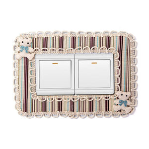 Fashion Fabric Switch Protection Cover