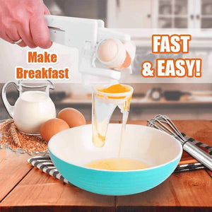 Egg Cracker Manual Egg White Separator