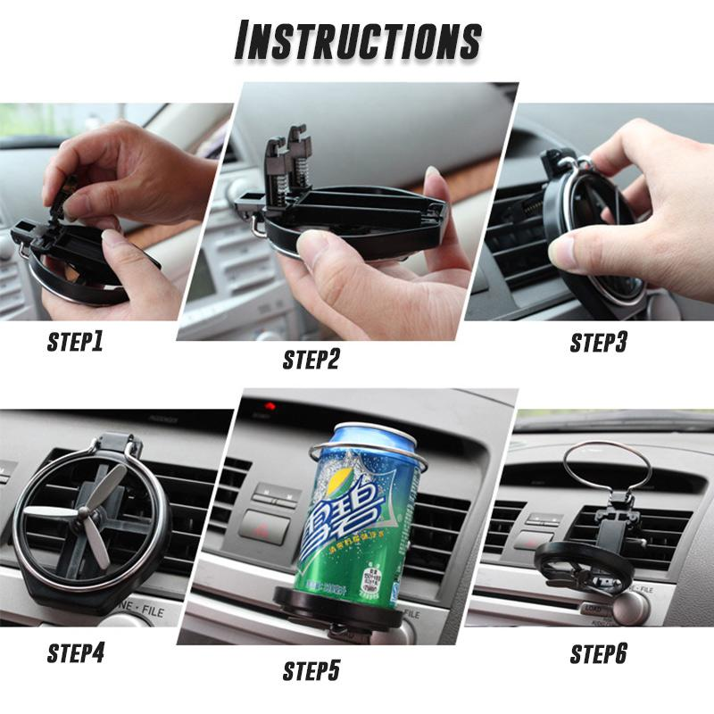 Car Folding Beverage Rack