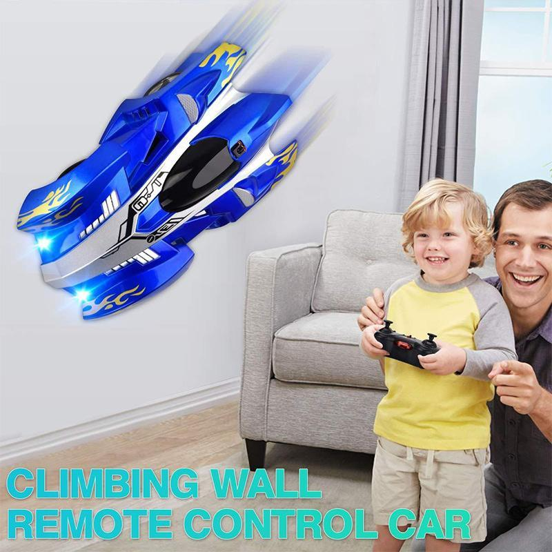 Wireless Remote Climbing Wall Car