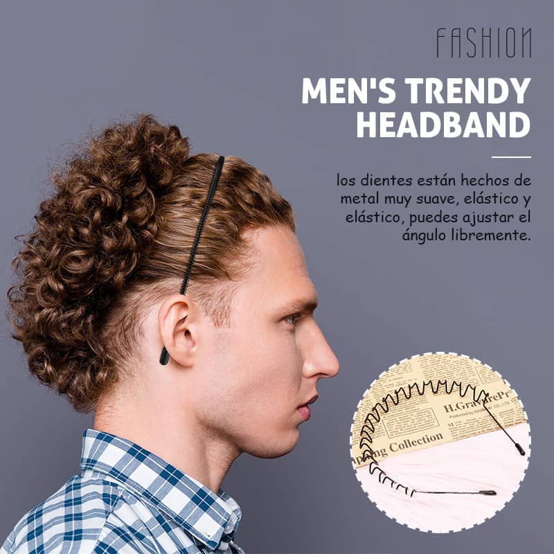 Men's Trendy Headband