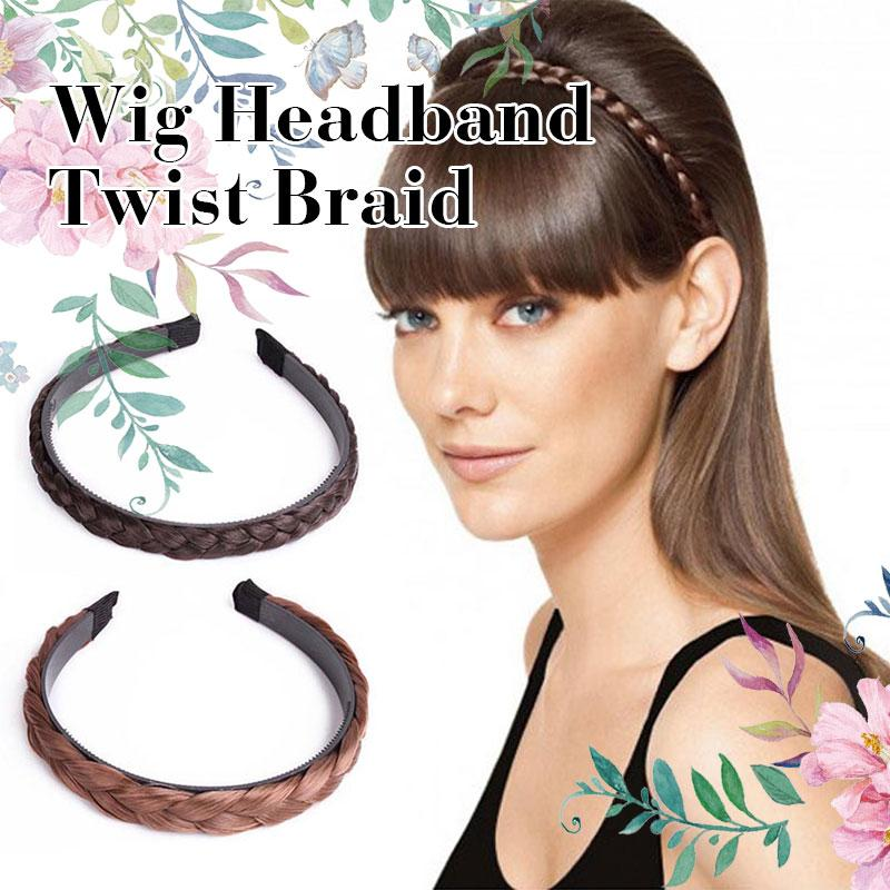 Wig Headband Twist Braid