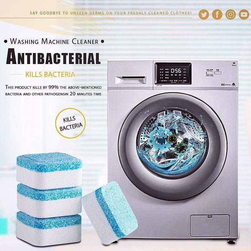 (NEW) Antibacterial Washing Machine Cleaner