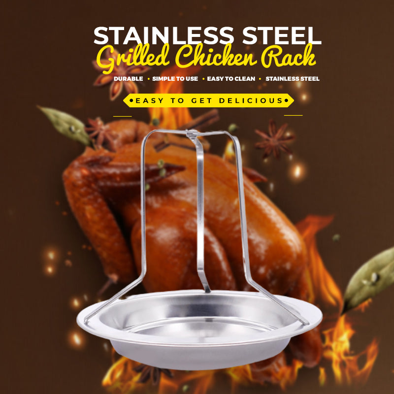 Stainless Steel Grilled Chicken Rack