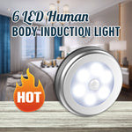 6LED Human Body Induction Light