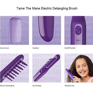 Electric Double-use Detangling Comb