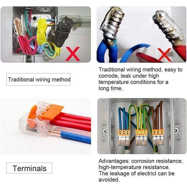 Universal Connection Terminal(10 Pcs)