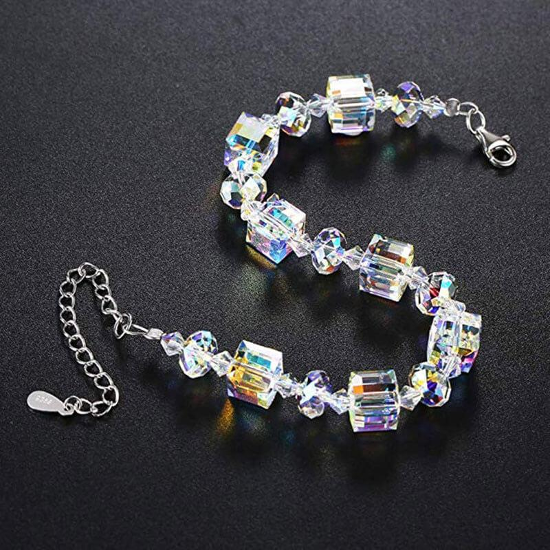 Shiny Fashion Square Crystal Bracelet