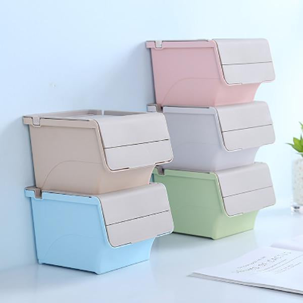 Desktop Storage Box With Holder