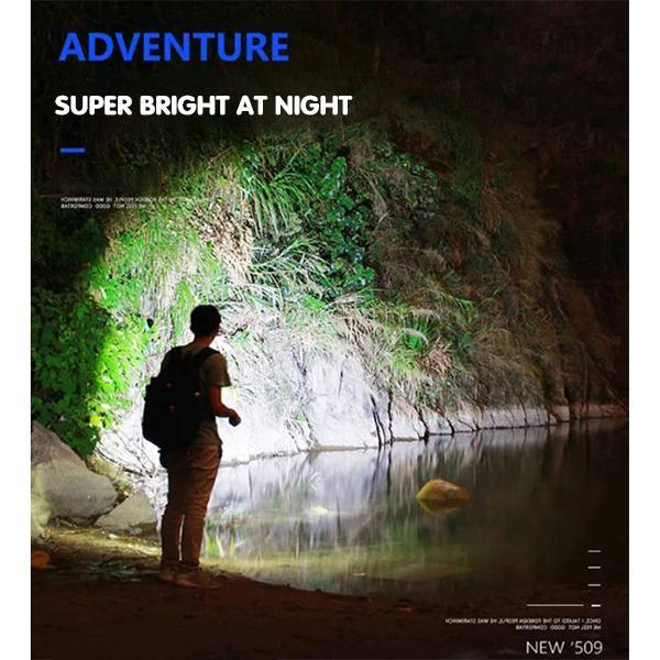 USB Strong Light Portable LED Flashlight