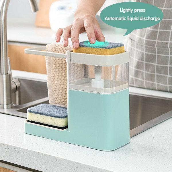 Multifunctional Kitchen Cleaning Combination Rack