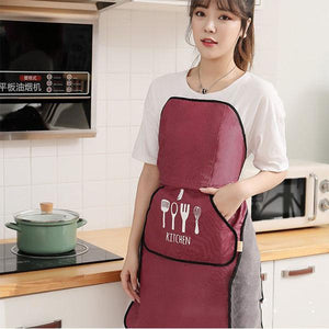 Tie-free Automatic Apron