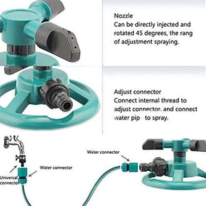 360-Degree Rotating Garden Sprinkler