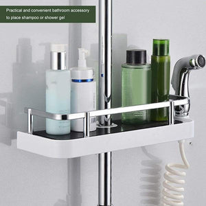 Free Punch Shower Rack