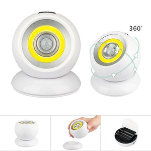 360-degree LED Motion Sensing Spotlight