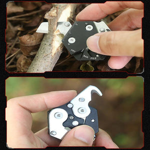 Hexagonal Card Knife with Screwdriver