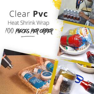 10-Sec Shoes Packing-Heat Shrink Film(100pcs)