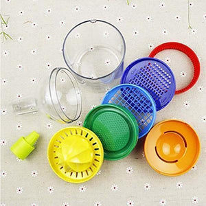 8 in 1 Multipurpose Kitchen Bottle