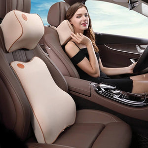 Car Memory Pillow And Backrest
