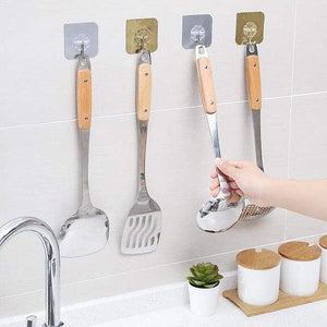 【BUY MORE SAVE MORE!!!】Seamless Adhesive Hook ( 10/20/30 Pcs )