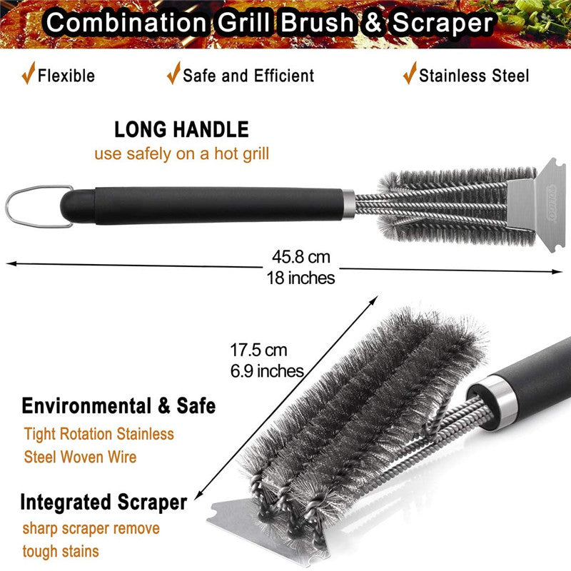 Multifunctional Barbecue Cleaning Brush