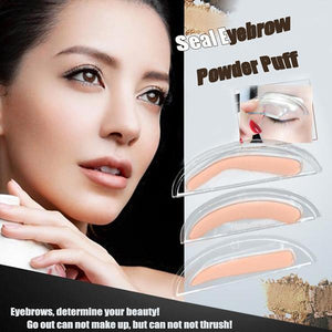 Eyebrow Stamp Seal Auxiliary Tool