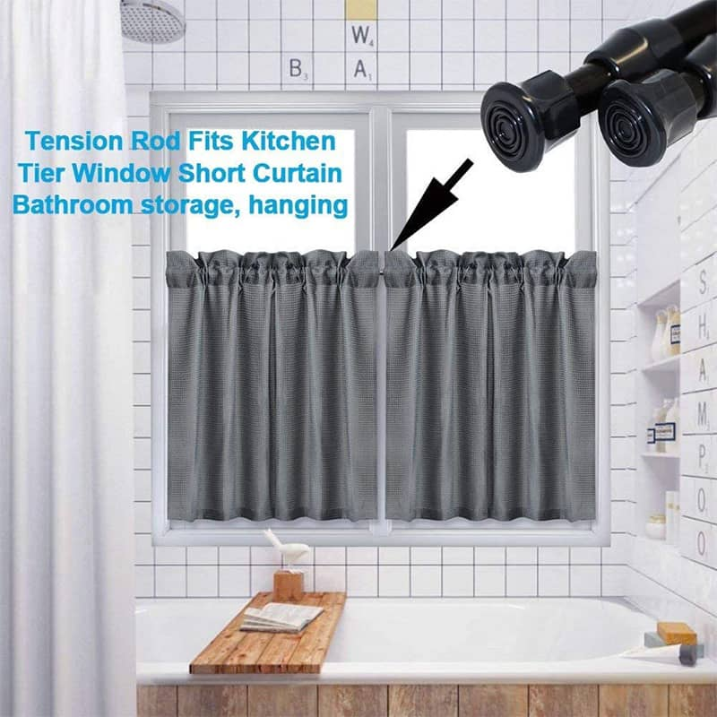 Punch-free Telescopic Shower Curtain Rod
