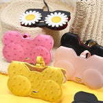Portable Cartoon Sunglasses Case Holder