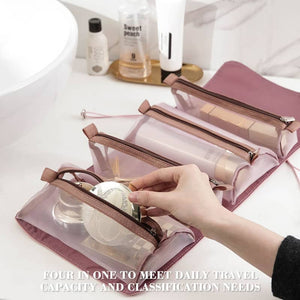Portable Folding Travel Toiletry Bag