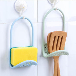 Kitchen Dish Sponge Storage Rack