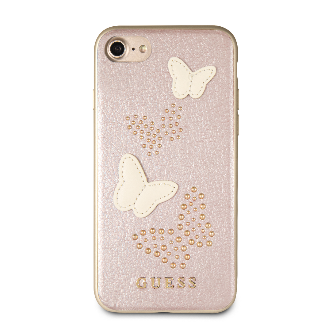 Case Guess Mariposas Rosa iPhone 6,7,8 y SE