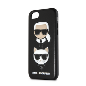 Funda Case Karl Choupette Negra iPhone 6,7,8 y SE