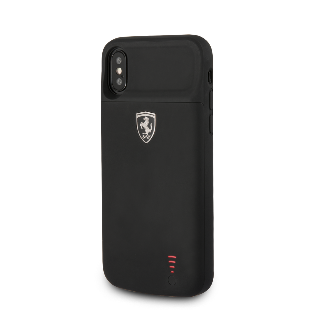 Power Funda Case Ferrari Negra 3600mha Iphone X