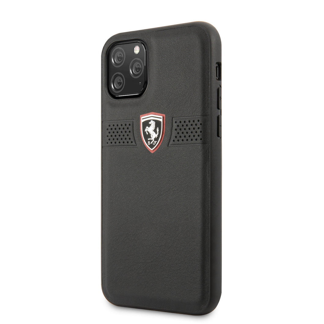 Funda Case Piel Ferrari Perforado iPhone 11 PRO