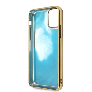 Funda Case Guess Degradada Gold&blue iPhone 11 Pro