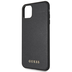 Funda Case Tipo Piel Guess Logo iPhone 11 Pro Max