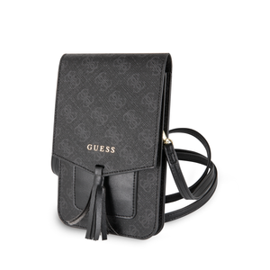 Wallet Bag Guess 4G Negra detalles