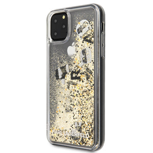 Case Karl Lagerfeld Brillos dorados iPhone 11 Pro Max