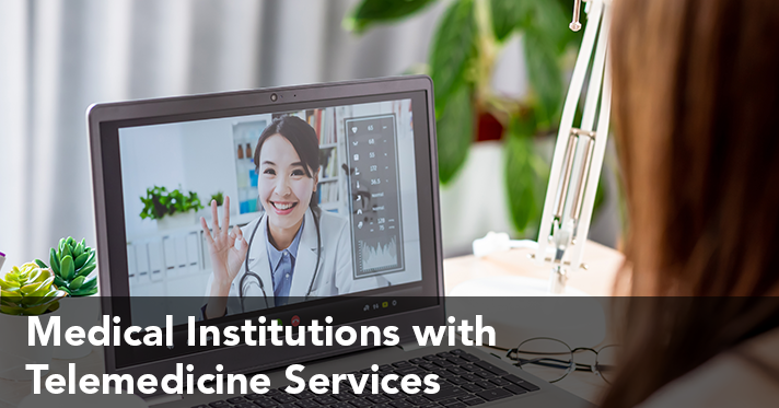 Medical Institutions with Telemedecine Services