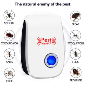 Mosquito Killer, Ultrasonic Anti Rodent Insect Repellent - FlexPro