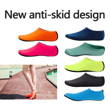 Load image into Gallery viewer, beach sneakers Men Women Water Shoes Swimming Shoes Solid Color Summer Aqua Beach Shoes Seaside Sneaker Socks slippers - FlexPro