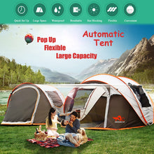 Load image into Gallery viewer, 2-8 People Fully Automatic Camping Tent Windproof Waterproof Automatic Pop-up Tent Family Outdoor Instant Setup Tent 4 Season - BittyDeal