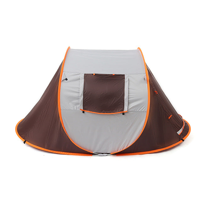 2-8 People Fully Automatic Camping Tent Windproof Waterproof Automatic Pop-up Tent Family Outdoor Instant Setup Tent 4 Season - BittyDeal