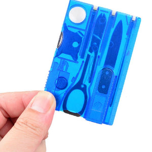 10 in 1 Pocket Credit Card Multi Tools - BittyDeal