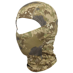 Camouflage Full Face Mask for Cycling, Hunting, Army, Bike, Military, Helmet - BittyDeal