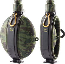 Load image into Gallery viewer, Army Tourist Collapsible Water Bottle, Kettle Canteen with Compass - FlexPro