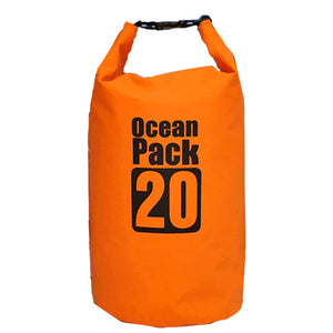 PVC 5L 10L 20L Outdoor Diving Compression Storage Waterproof Bag Dry Bag For Man Women Swimming Rafting Kayak - BittyDeal